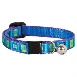 Lupine Collars & Leads 1/2 X 8 -12 Sea Glass Design Safety
