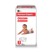 DG Baby Jumbo Diapers Size 1 - 50ct