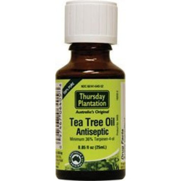Nature's Plus 100% Pure Tea Tree Oil 25ml Thursday Plantation 25ml Liquid