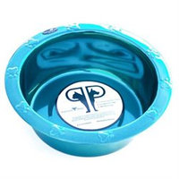 Platinum Pets Wide Embossed Rim Bowl