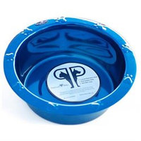 Platinum Pets Wide Embossed Rim Bowl
