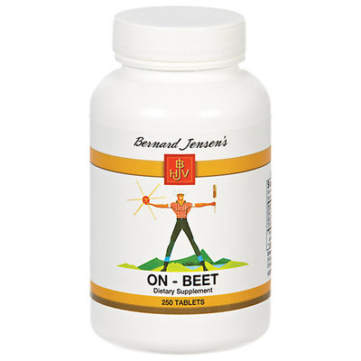 Bernard Jensen Products On-Beet - 250 Tablets - Other Green / Super Foods