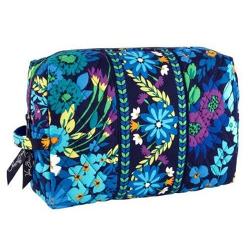 Vera Bradley Large Cosmetic in Midnight Blues []