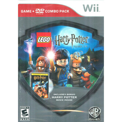 Whv LEGO Harry Potter: Years1-4 Silver Shield