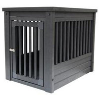 New Age Pet InnPlace Espresso Dog Crate Table LG