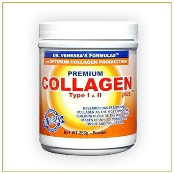 Dr. Venessa's Formulas Premium Collagen Plus, Type I & II 9 Ounces