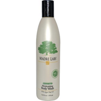 Madre Labs, Moisturizing Body Wash, Rosemary Mint, 12.5 fl oz (370 ml)