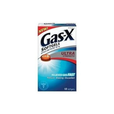 Gas-x Softgels Ultra Size: 18