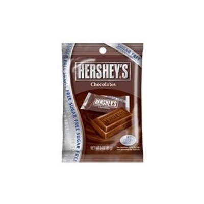 Hershey's Hersheys Sugar Free Chocolate Candy 3.3 Oz Pack 12 Packs