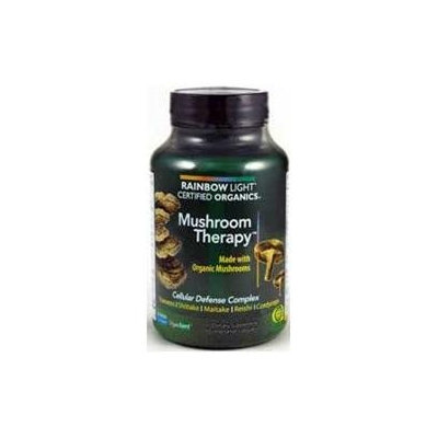 Rainbow Light Certified Organics Mushroom Therapy - 60 Vegetarian Capsules
