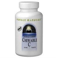 Source Naturals - Acerola C, 120 mg, 100 chewable tablets