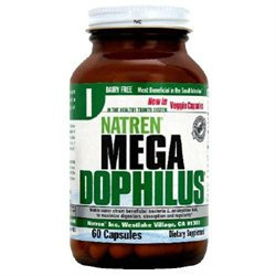 Megadophilus Dairy Free by Natren - 60 Capsules
