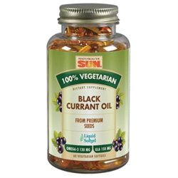 Health From The Sun 100% Vegetarian Black Currant Oil