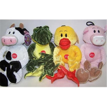 Votoy 81268345 VoToys Soft and Cuddle Plush Animals Assorted Dog Toy Each