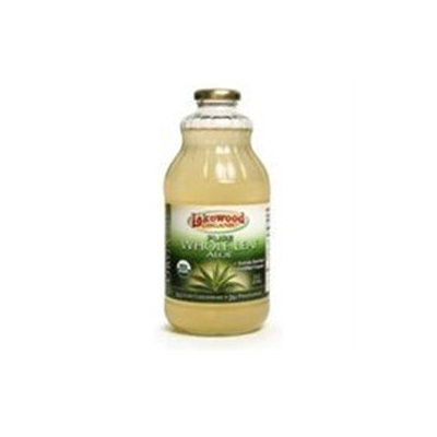 Lakewood Organic Pure Aloe Whole Leaf Juice - 32 fl oz