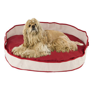Carolina Pet Company Carolina Pet Co. Canvas Tote Cuddler Oval Pet Bed - 40