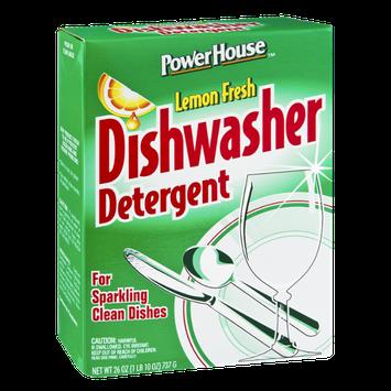 PowerHouse Lemon Fresh Dishwasher Detergent