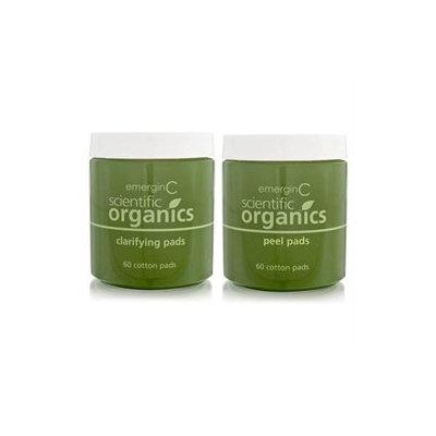 emerginC Scientific Organics At-Home Facial Peel + Clarifying Kit