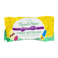 Russell Stover Peanut Butter Egg in Milk Chocolate