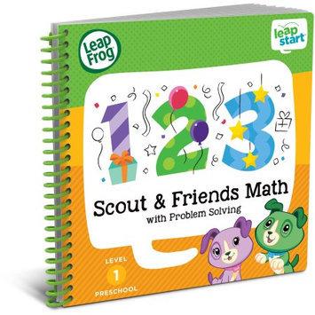 LeapFrog LeapStart Preschool Math Activity Book