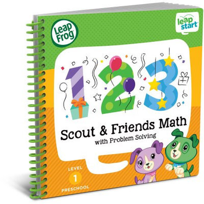 LeapFrog LeapStart Preschool Math Activity Book