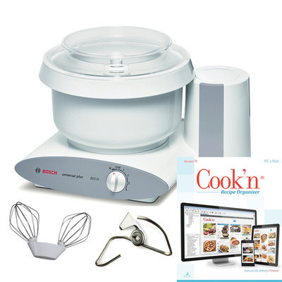 Bosch Universal Plus Mixer with Cook'n Recipe Organizer Software