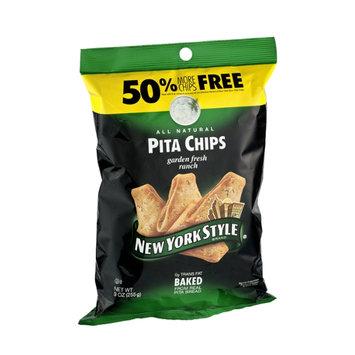 New York Style All Natural Garden Fresh Ranch Pita Chips