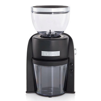 Krups Conical Burr Coffee Grinder - Black