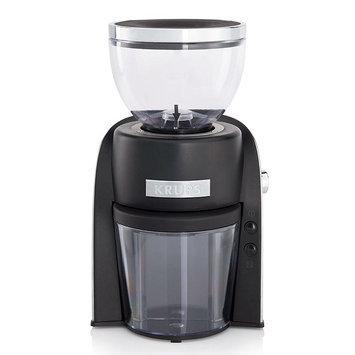 Krups Conical Burr Coffee Grinder - Black