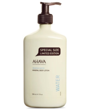 AHAVA Deadsea Water Mineral Body Lotion, 17 oz