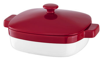 KitchenAid 2.8 Quart Streamline Ceramic Casserole Dish - Empire Red