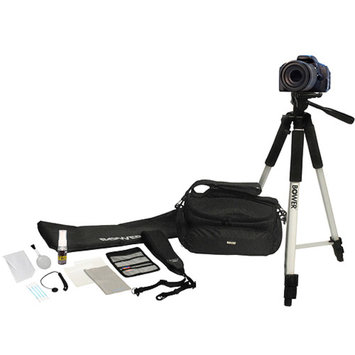 Bower 12-in-1 DSLR Accessory Kit, Black