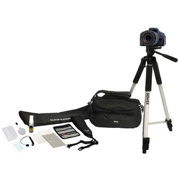 Bower 12-in-1 DSLR Accessory Kit, Black