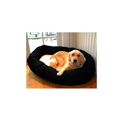Majestic Pet Products, Inc. Majestic Pet Sherpa Bagel Dog Bed LG Black