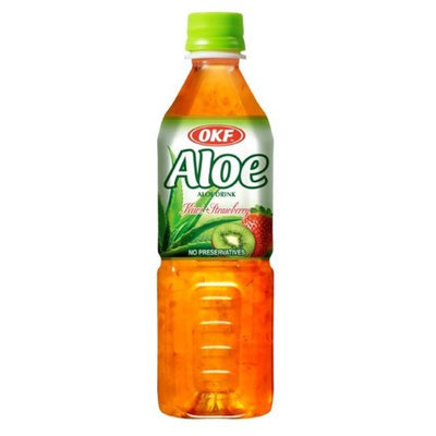 OKF AVS070 Aloe Standard Kiwi Strawberry 1.5 Liter - Case of 12