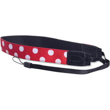 Fujifilm FujiFilm 600011968 Camera Strap, Red/White Polka Dot