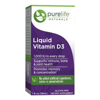 Pure Life Liquid Vitamin D3