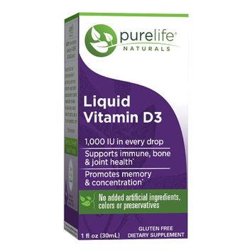 Pure Life Liquid Vitamin D3