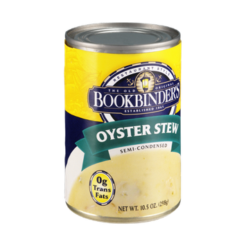 Bookbinder's Oyster Stew Semi-Condensed Soup