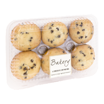 Bakery Chocolate Chip Muffins