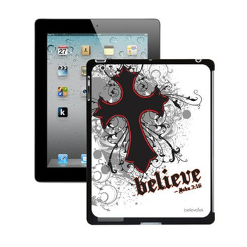 Believetek Cross White iPad2 and New Case
