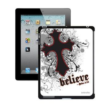 Believetek Cross White iPad2 and New Case
