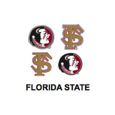 Innovative Adhesives BC-12 Florida State University Fan-A-Peel Temporary Tattoo-Sticker