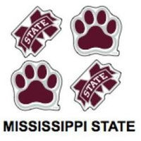 Innovative Adhesives BC-12 Mississippi State Fan-A-Peel Temporary Tattoo-Sticker