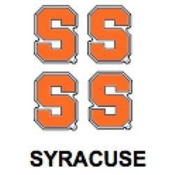 Innovative Adhesives BC-12 Syracuse Fan-A-Peel Temporary Tattoo-Sticker