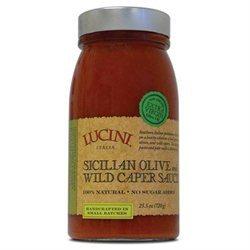 Lucini Italia 23544 Sicilian Olive Pasta Sauce
