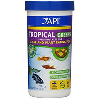 A.P.I. API Tropical Greens Flake, 2.1-Ounce