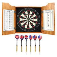 Trademark Global Solid Wood Dart Cabinet