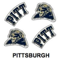 Innovative Adhesives BC-12 University of Pittsburgh Fan-A-Peel Temporary Tattoo-Sticker