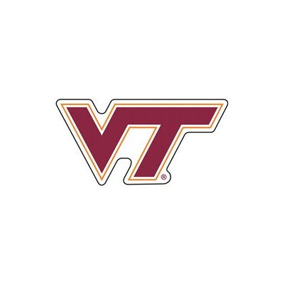 Innovative Adhesives L-FN-VIRGINIA TECH Fan-A-Peel Temporary Fingernail Tattoo-Sticker